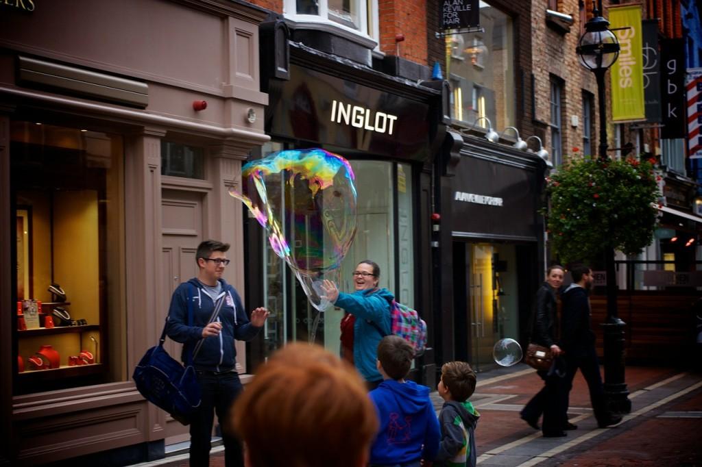 Dublin avec les enfants