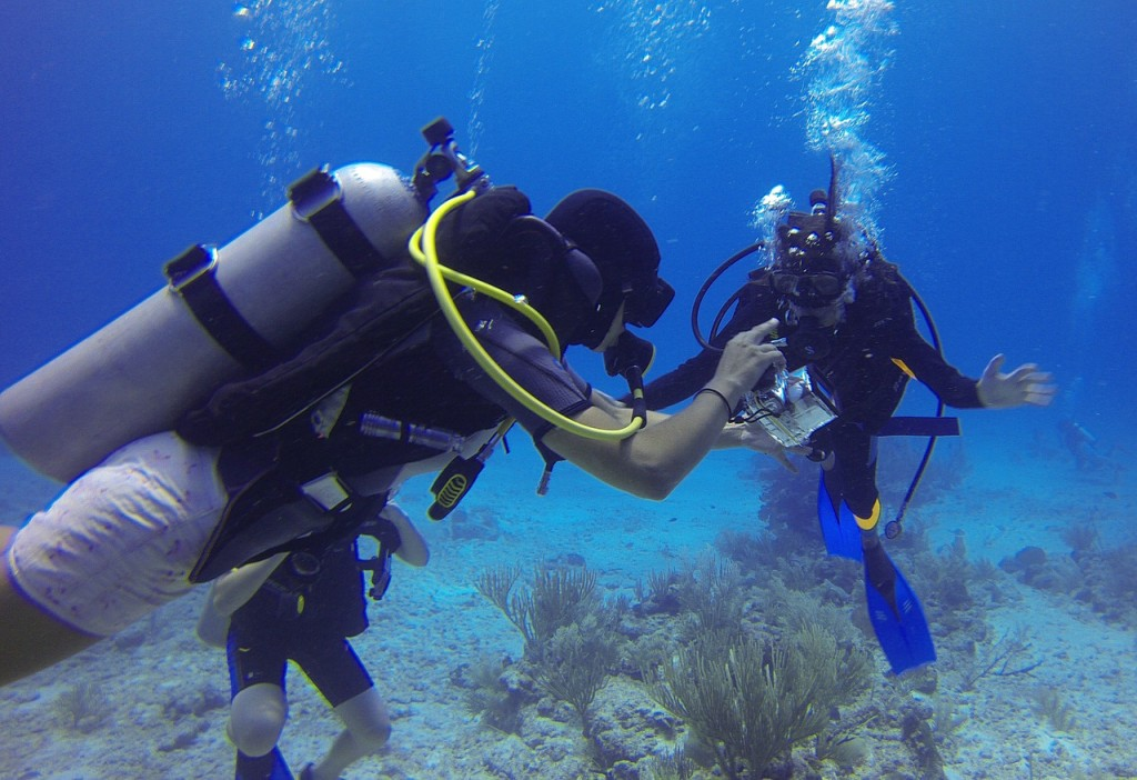 Se mettre à la plonée sous marine