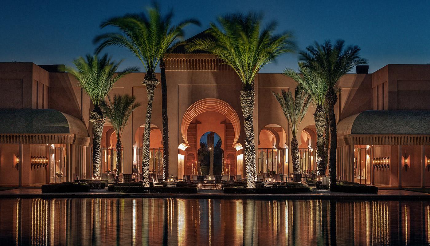 hôtel Amanjena Marrakech