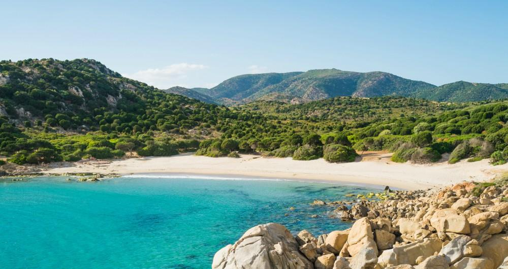 plage de Chia - Sardaigne
