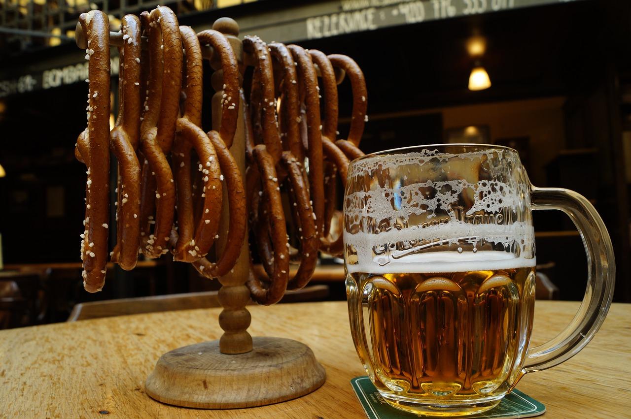 Bière et Bagel à Prague