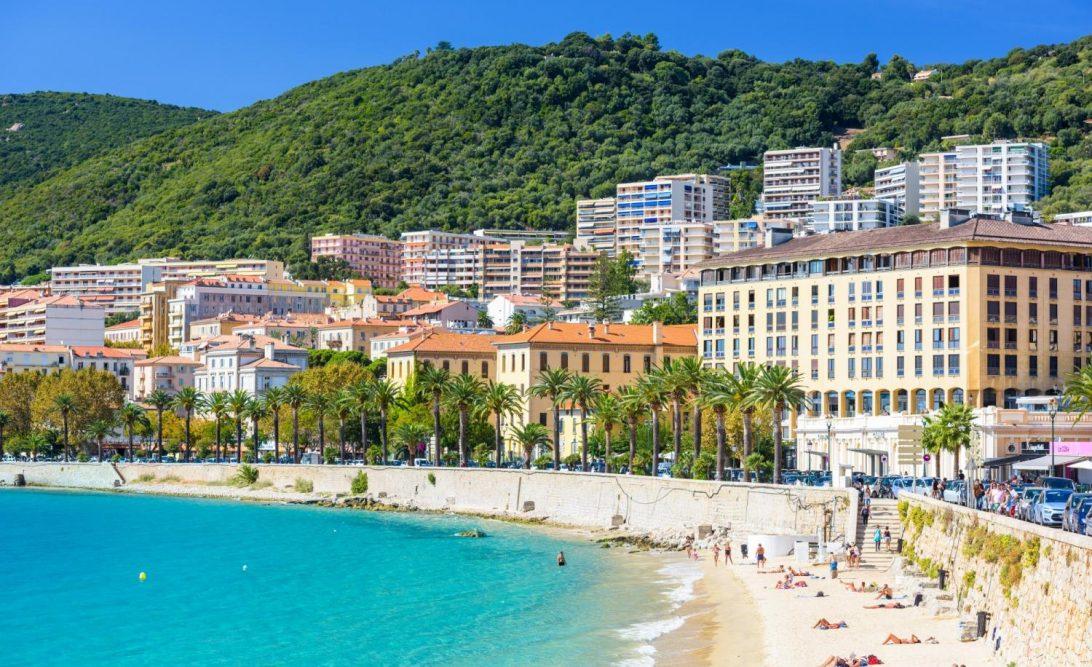 La belle ville d'Ajaccio