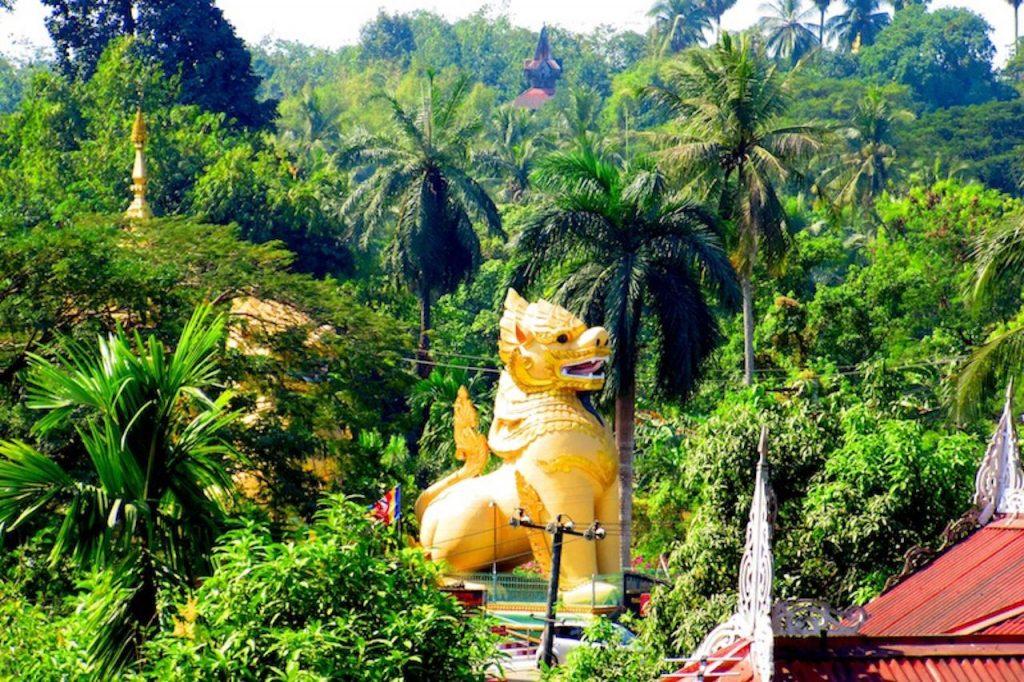 Les temples et cérémonies en Birmanie