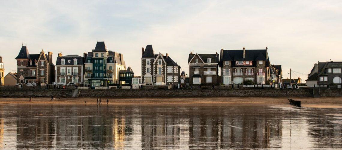 Saint Malo front de mer