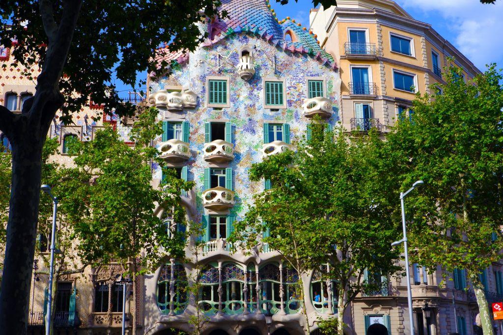Casa Batillo à Barcelone